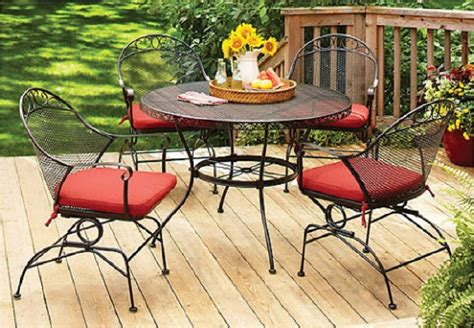 Iron Patio Dining Set - better homes and gardens clayton court 5 wrought