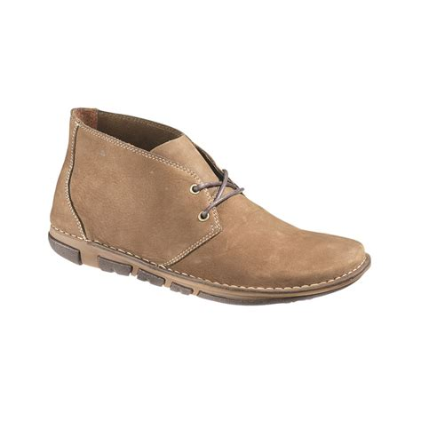 hush puppies s boots hush puppies hang out chukka boots in brown for lyst