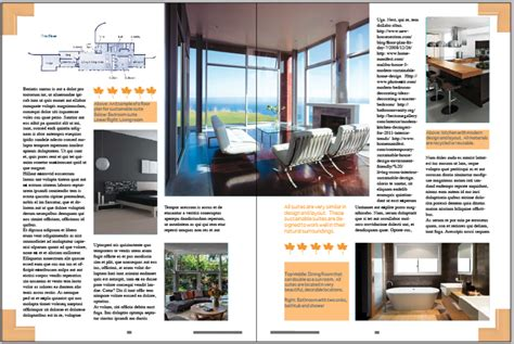 home design digital magazine magazine layout inside pages samantha debroux