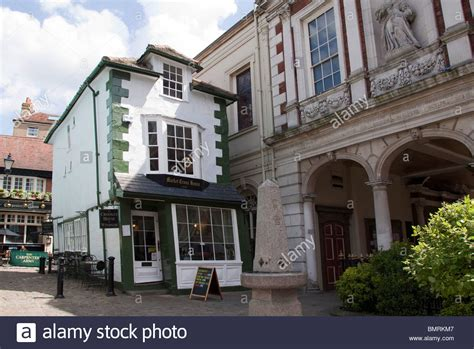 buy a house in windsor old market cross house the crooked house of windsor berkshire stock photo royalty