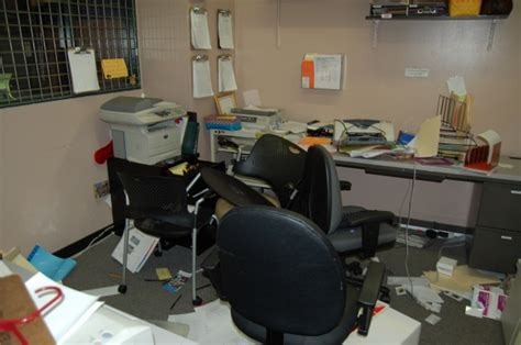 The Office Breaks Back by Oakland S Level Health Project Offices Broken Into