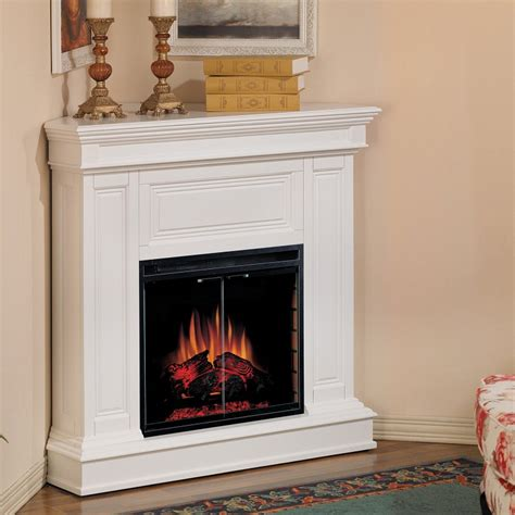 corner electric fireplace ideas for small room images 04