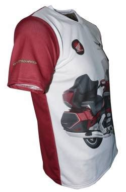 honda gold wing 2018 t shirt with logo and all over