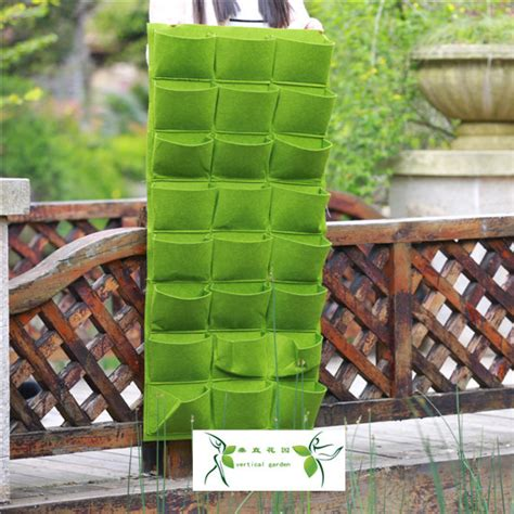 Hanging Bag Planters by 2015 New Waterproof Planting Bag Living Wall Planter