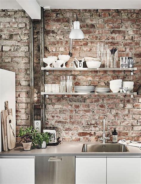 how to clean brick kitchen backsplash livinator 25 best ideas about brick wall kitchen on pinterest