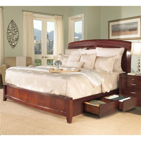 Bedroom Furniture With Storage by Brighton Storage Bedroom Set By Modus International Furniture All World Furniture