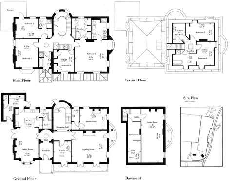 floor layout plans manor house floor plan plans country hol large
