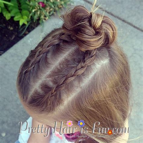 braided hairstyles on top of head pretty hair is fun dutch braid top knot bun pretty hair