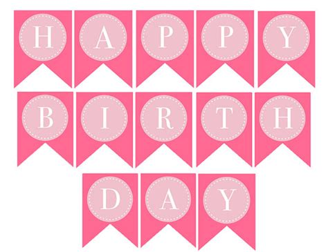 printable happy birthday banner 7 best images of happy birthday letters printable template