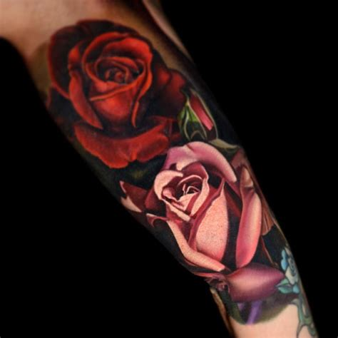 red and white rose tattoo white and www pixshark images