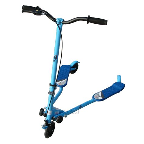 swing scooters spare repair blue 3 wheel mini swing tri motion slider