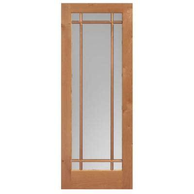 84 Lumber Interior Doors by Masonite 36 In X 84 In Prairie Knotty Alder Veneer 9