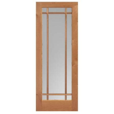 Masonite 36 In X 84 In Prairie Knotty Alder Veneer 9 36 X 84 Interior Door