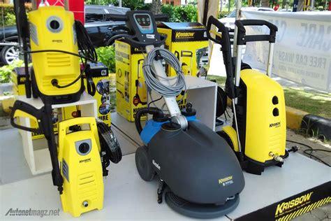 Mesin Steam Cuci Motor Dan Mobil krisbow luncurkan 4 alat cuci steam rumahan
