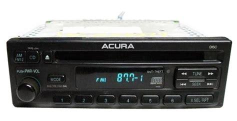 1998 acura integra radio code acura integra cl 2 3l am fm radio cd player stereo 1997