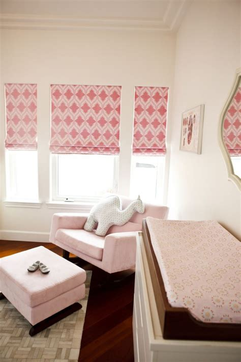 Color Trends In Girls Rooms Project Nursery Nursery Blinds And Curtains