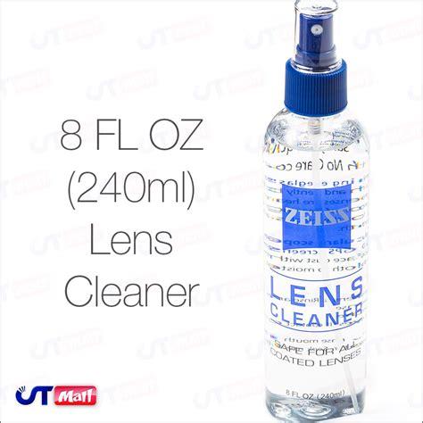 zeiss lens cleaner spray 8oz bottle multi purpose glasses