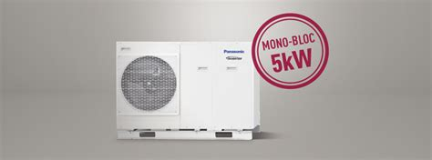 Pompa Panasonic New 5kw Mono Bloc Single Phase Panasonic Heating And