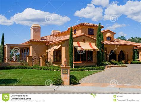 italian house italian style house stock image image 4293261