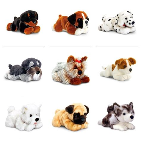 ebay puppies keel soft toys assorted plush cuddly dogs 35cm gift ebay