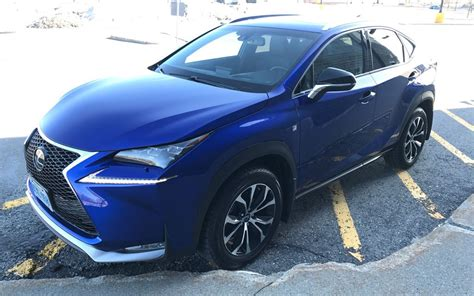 lexus crossover 2017 2017 lexus nx 200t a flashy crossover that makes a