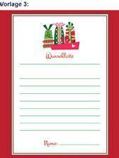 Postkarten Drucken Aldi by Aldi S 220 D Wunschzettel Vorlagen Weihnachten Printable