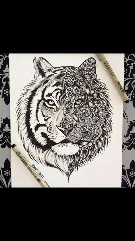 cool tiger tattoo designs way cool tribal tiger design ink