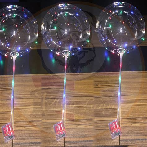 helium balloons with led lights bobo ball led ballon light 18 inch led string light bobo