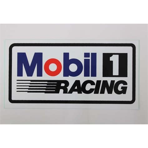 Sticker Logo Mobil mobil 1 racing sticker