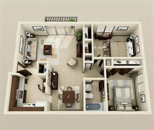 2 bedroom home plans 50 plans 3d d appartement avec 2 chambres