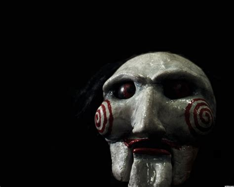 which saw film does jigsaw die in jigsaw doll prop replica pictures