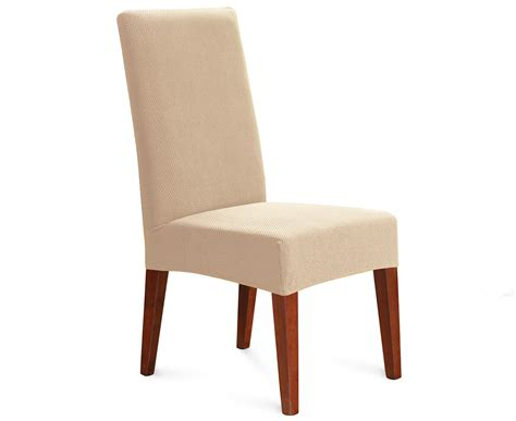 sure fit stretch dining chair cover ivory 9319288520195
