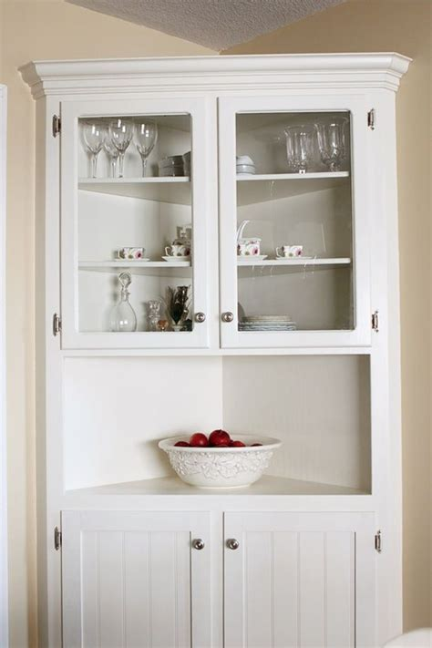 white corner kitchen cabinet cabinet wonderful white corner cabinet ideas corner