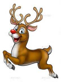 reindeer christmas cartoon character by krisdog graphicriver