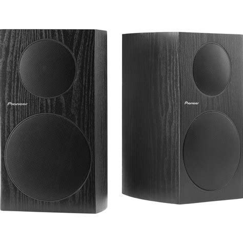 pioneer sp bs41 lr 5 25 quot bookshelf speakers sp bs41 lr b h