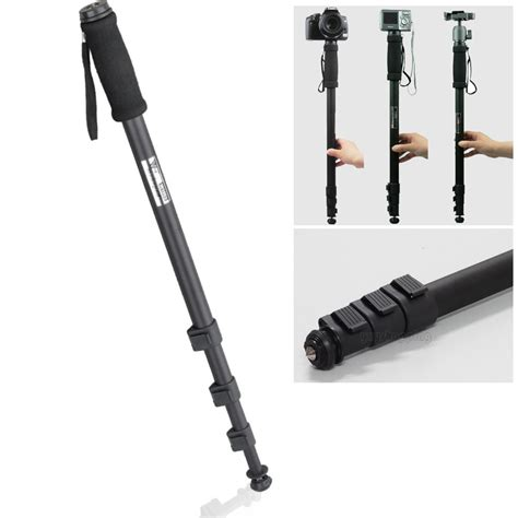 Monopod Nikon weifeng wt 1003 67 quot 171cm monopod light weight tripod for canon nikon sony digital dv