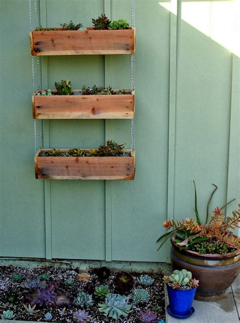 hanging planter box 20 diy wooden planter boxes for your yard or patio