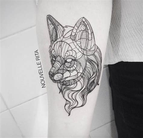 geometric tattoos animals artistic and geometric animals design by nouvelle