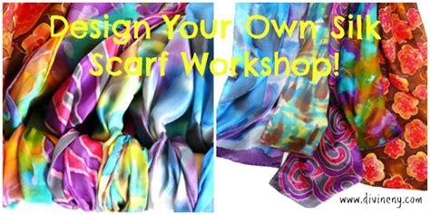 silk painting textile design divineny