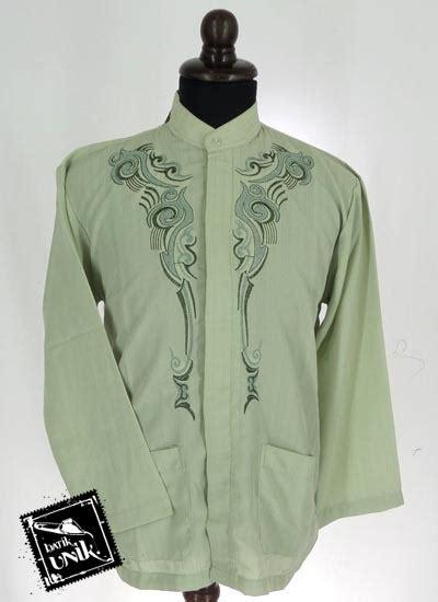 koko panjang dewasa baju muslim koko panjang dewasa katun bordir koko batik