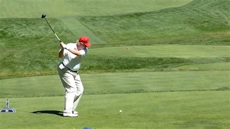 donald trump golf swing president trump golfs with budget director and rand paul