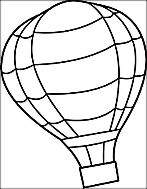 printable coloring pages air balloons air balloon coloring pages for adults color zini