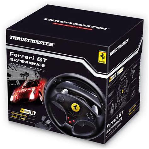 volanti thrustmaster thrustmaster gt experience racing wheel 3 in 1