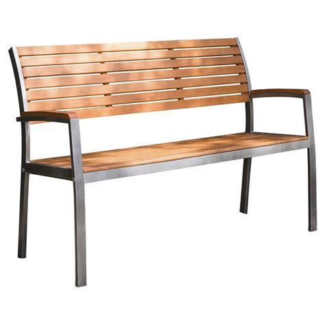 steel outdoor benches metal outdoor benches foter