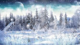 Download winter snow animated wallpaper
