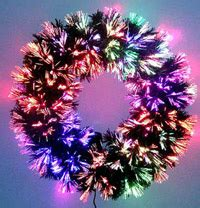 fiber optic christmas wreath i m dreaming of a fiber optic savvystews