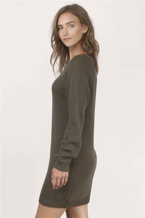 Sweater Dresses by Olive Sweater Green Sweater Sleeve Sweater 36 00