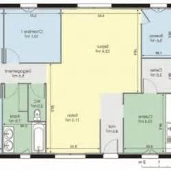 plan 120m2 4 chambres plan de plein pied