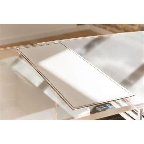 bureau plexiglas bureau d appoint transparent et incolore plexi