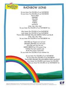 you should seen it in color lyrics rainbow song lyrics i some of these things aren t